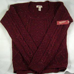 Arizona Jean Co. Burgundy Sweater